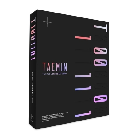 TAEMIN - TAEMIN 2ND CONCERT [T1001101] KIT VIDEO Koreapopstore.com