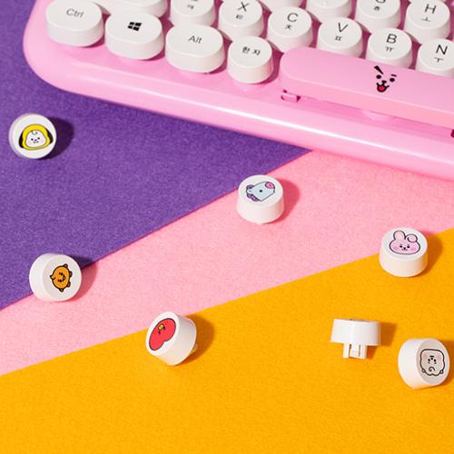 [BT21] Retro Keyboard BABY Printed Key Cap (RC) Koreapopstore.com