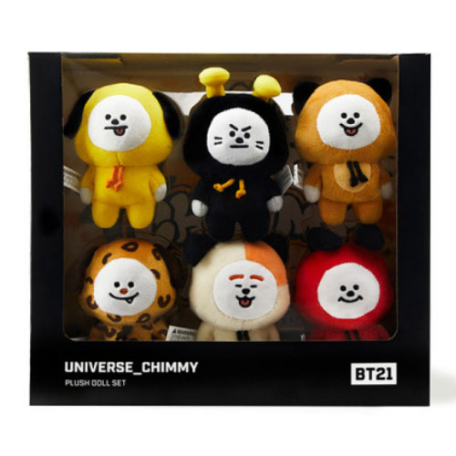 [BT21] CHIMMY Universe Standing Doll Set (LF) Koreapopstore.com