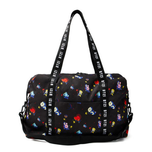 [BT21] Space Squad Patterned Duffel Bag (LF) Koreapopstore.com