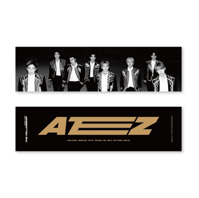 [Ship from 12th/MAR] [ATEEZ] WORLD TOUR THE FELLLOWSHIP : MAP THE TREASURE Reflection Slogan Koreapopstore.com