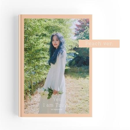 [~30th/MAR] TZUYU - YES, I AM TZUYU. (1ST PHOTOBOOK) PEACH VER. (A) Koreapopstore.com