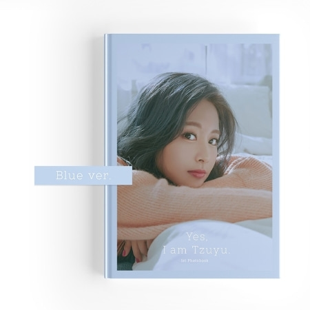 [~30th/MAR] TZUYU - YES, I AM TZUYU. (1ST PHOTOBOOK) BLUE VER. (B) Koreapopstore.com