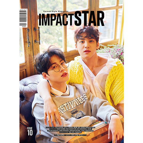 [IMPACT STAR] ISSUE.10 April (2020) A Type Koreapopstore.com