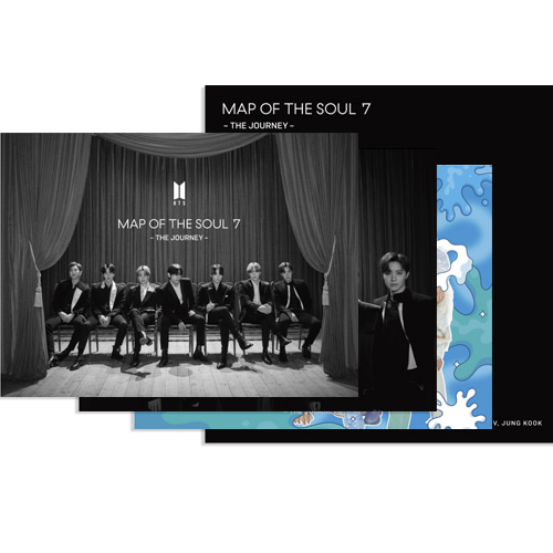 [Ship From 15th/JUL] BTS - MAP OF THE SOUL : ~7 THE JOURNEY~ Set A (JAPANESE OFFICIAL) Koreapopstore.com