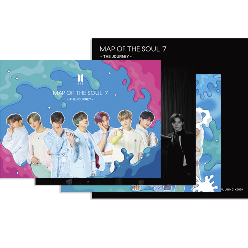 [Ship From 15th/JUL] BTS - MAP OF THE SOUL : ~7 THE JOURNEY~ Set B (JAPANESE OFFICIAL) Koreapopstore.com