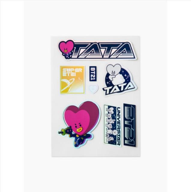 [BT21] SPACE Wappen Deco Sticker : TATA (LF) Koreapopstore.com