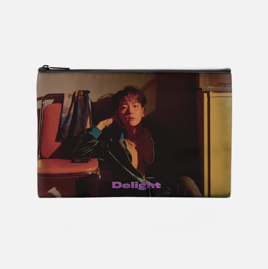 [Ship From 21st/JUL] [BAEKHYUN] POUCH - Delight Koreapopstore.com