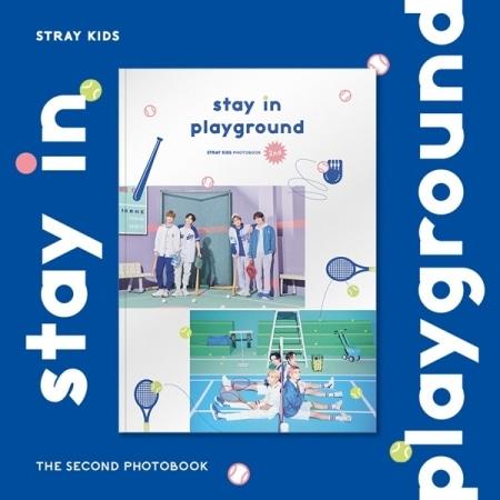 [~5th/AUG] STRAY KIDS - STAY IN PLAYGROUND : STRAY KIDS 2ND PHOTOBOOK Koreapopstore.com