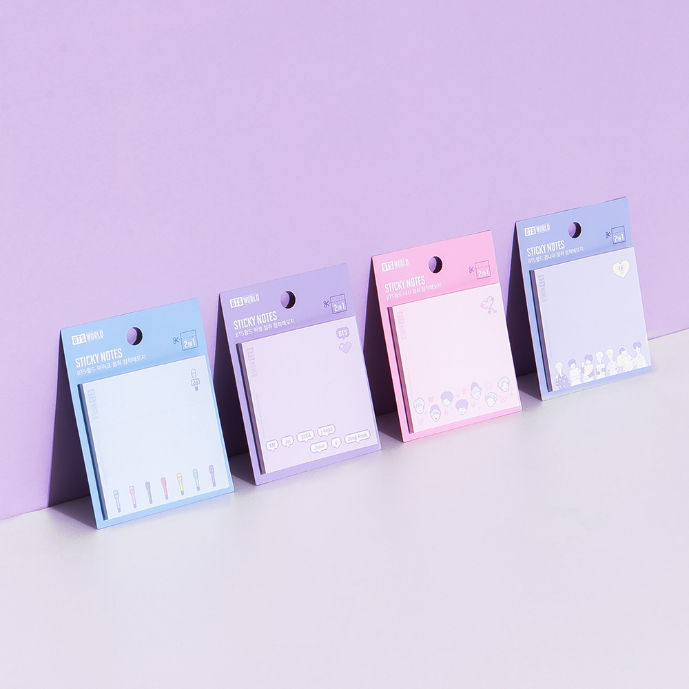 [BTS WORLD] Sticky Notes Koreapopstore.com