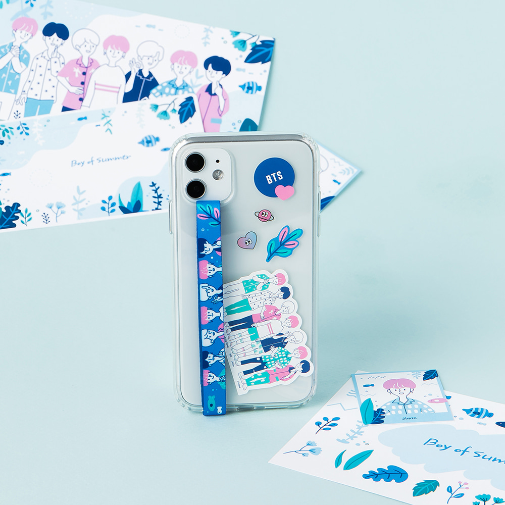 [BTS WORLD] BOY OF SUMMER Highloop Phone Strap Koreapopstore.com