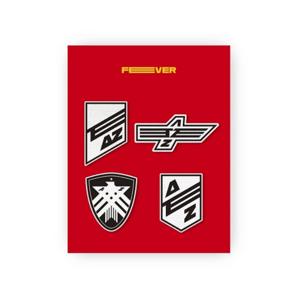 [Ship from 14th/AUG] [ATEEZ] ZERO : FEVER PART.1 / WAPPEN BADGE SET [A TYPE] Koreapopstore.com