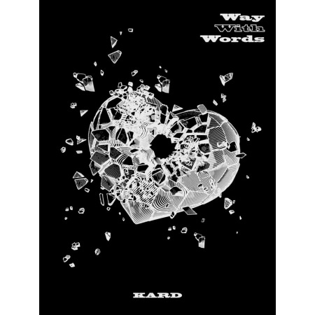 [SIGNED CD] KARD - WAY WITH WORDS (1ST SINGLE ALBUM) Koreapopstore.com