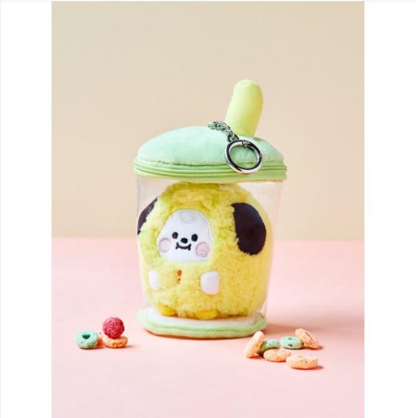 [BT21 BABY] Boucle Bubble Tea Bag Charm : CHIMMY (LF) Koreapopstore.com
