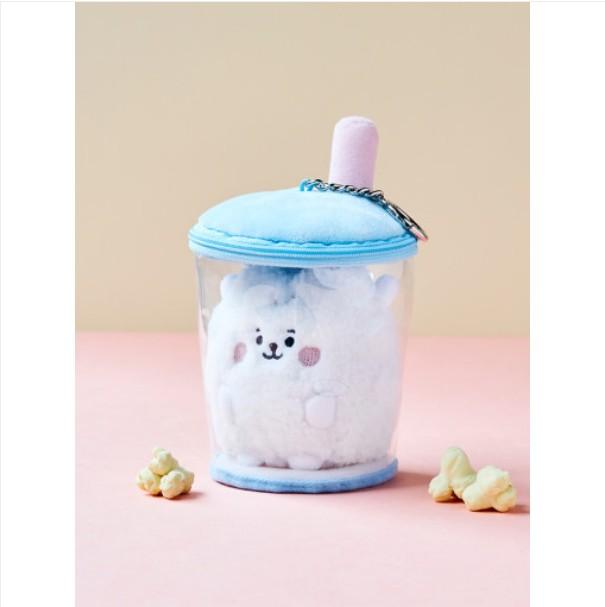 [BT21 BABY] Boucle Bubble Tea Bag Charm : RJ (LF) Koreapopstore.com
