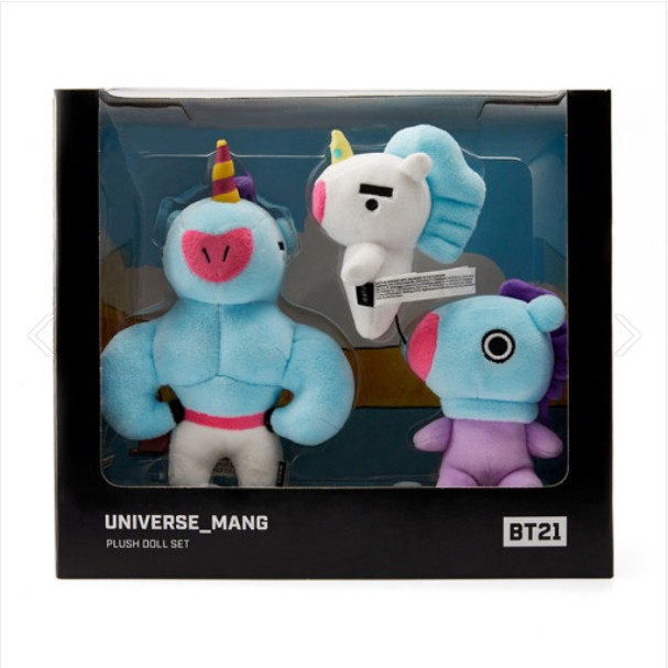 [BT21] MANG Universe Standing Doll Set : 3pcs (LF) Koreapopstore.com