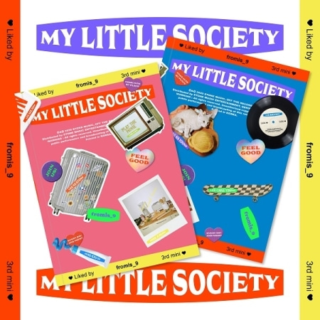 [SIGNED CD] FROMIS_9 - MY LITTLE SOCIETY (3RD MINI ALBUM) / My Account Ver. + My Society Ver. SET Koreapopstore.com
