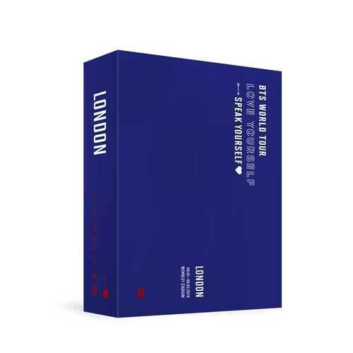 [~23rd/SEP] BTS - WORLD TOUR 'LOVE YOURSELF SPEAK YOURSELF' LONDON DVD Koreapopstore.com