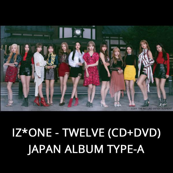 IZ*ONE - TWELVE (CD+DVD) JAPAN ALBUM TYPE-A Koreapopstore.com