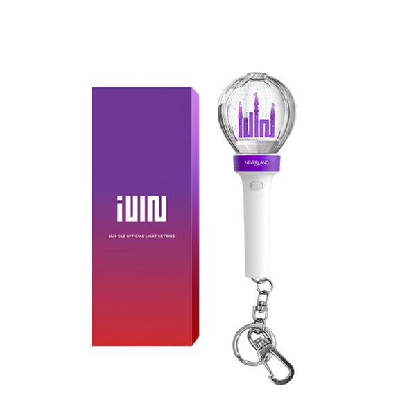 [(G)I-DLE] Official Light Stick Mini Key Ring Koreapopstore.com