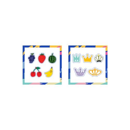 [Ship from 20th/NOV] [ITZY] MINI WAPPEN STICKER / LIGHT RING POP_UP STORE Koreapopstore.com