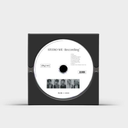 ONEWE - STUDIO WE : RECORDING (1ST DEMO ALBUM) Koreapopstore.com