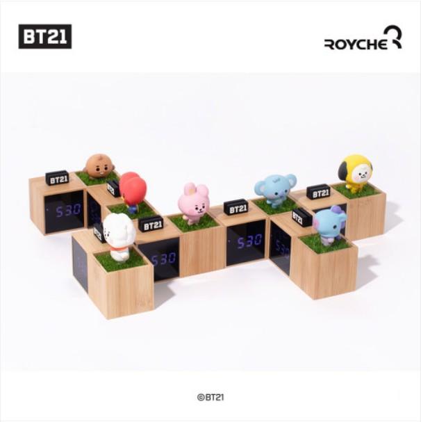 [BT21 BABY] LED Digital Desk Clock (LF/RC) Koreapopstore.com