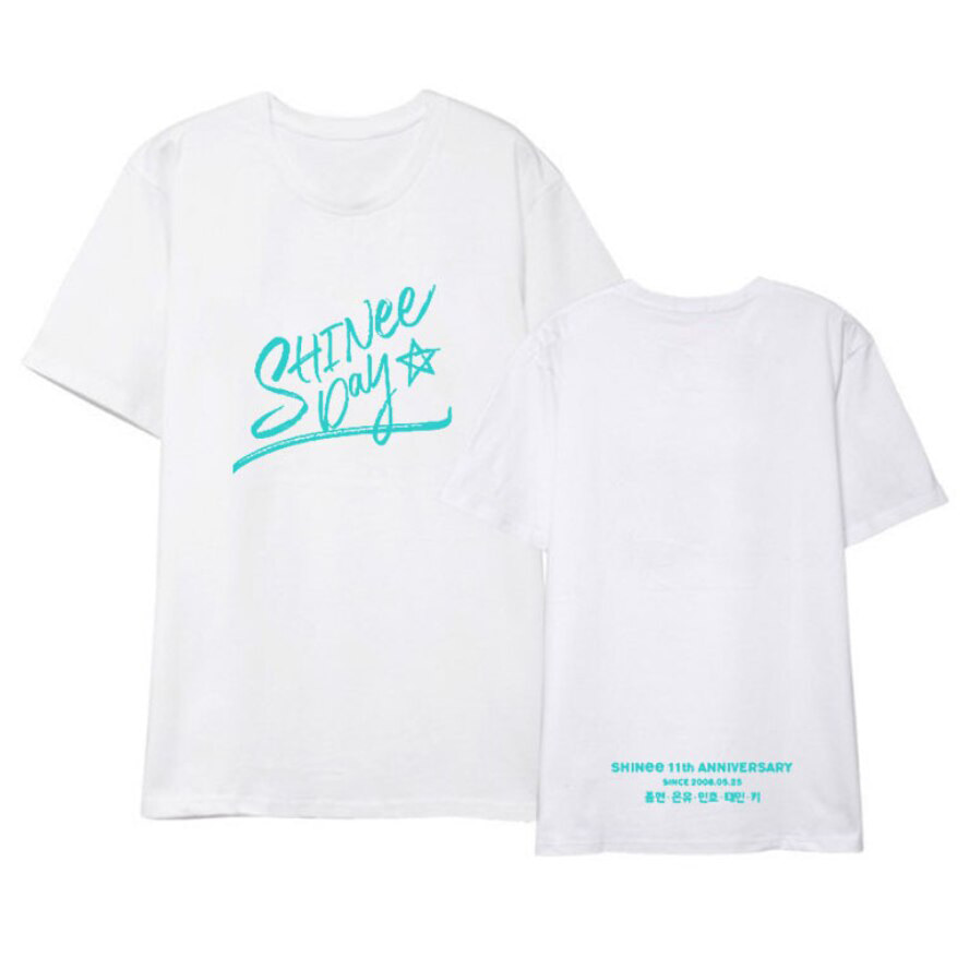 [SHINEE] T-shirts : DEBUT 11th ANNIVERSARY EXHIBITION Koreapopstore.com