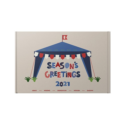 [Ship from 18th/DEC] [AB6IX] 2021 Season's Greetings Koreapopstore.com