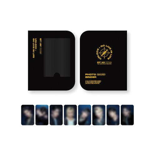 [Ship From 16th/DEC] [STRAY KIDS] Photo Card Binder [Unlock : GO LIVE IN LIFE] Koreapopstore.com