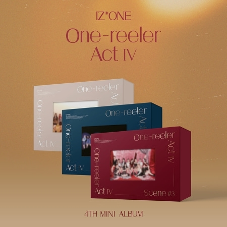 IZ*ONE - ONE-REELER / ACT Ⅳ (4TH MINI ALBUM) Koreapopstore.com