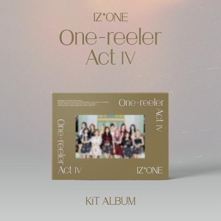 IZ*ONE - ONE-REELER / ACT Ⅳ (4TH MINI ALBUM) KIT ALBUM Koreapopstore.com