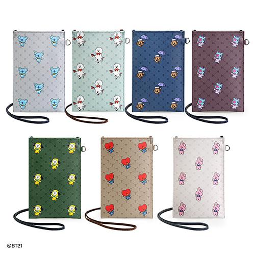 [BT21] Mobile Phone Cross Bag (MP) Koreapopstore.com