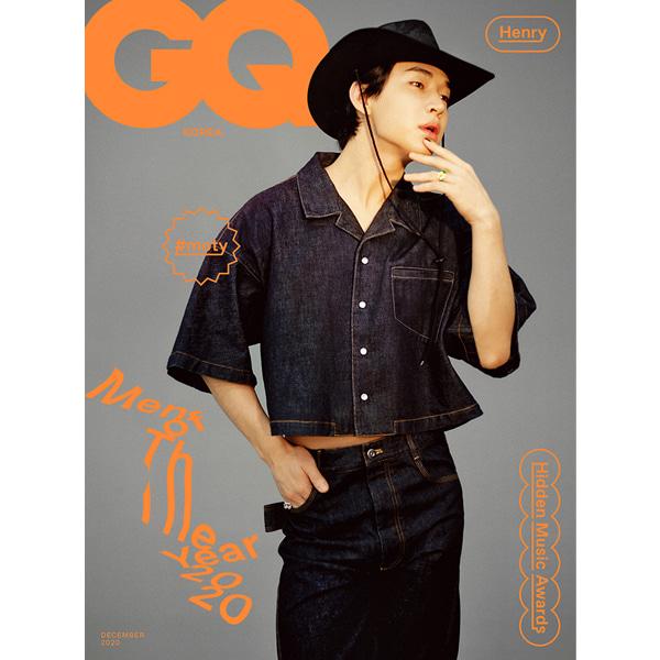 [GQ] December (2020) : B Type / HENRY Koreapopstore.com