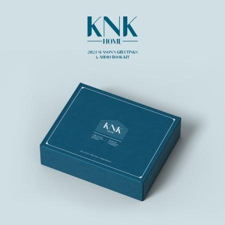 KNK - KNK 2021 SEASON'S GREETINGS & AUDIO BOOK KIT Koreapopstore.com