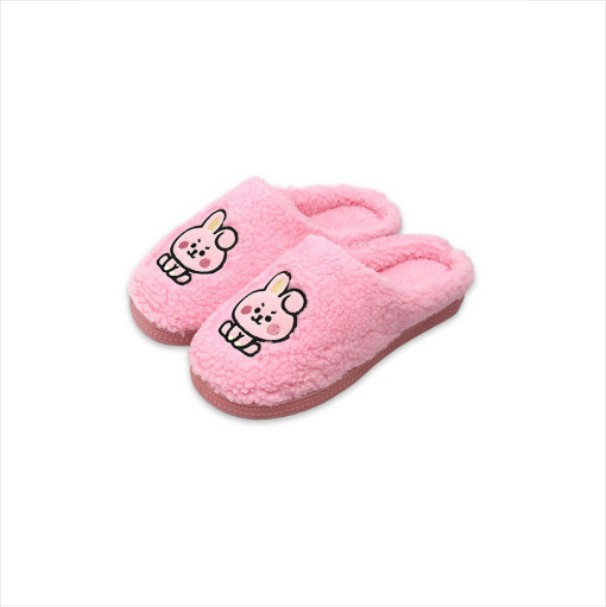 [BT21 BABY] Boucle Slippers : COOKY (LF) Koreapopstore.com