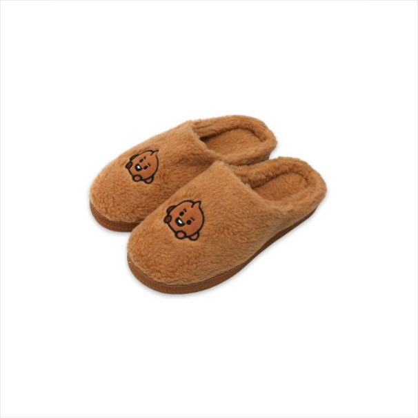 [BT21 BABY] Boucle Slippers : SHOOKY (LF) Koreapopstore.com