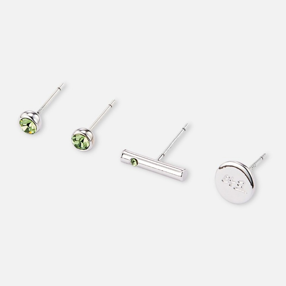 [Ship from 5th/FEB][NCT] BIRTHSTONE EARRINGS Koreapopstore.com