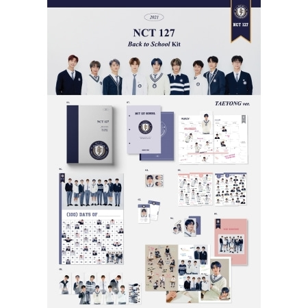 [~18th/JAN] NCT 127 - 2021 NCT 127 BACK TO SCHOOL KIT Koreapopstore.com