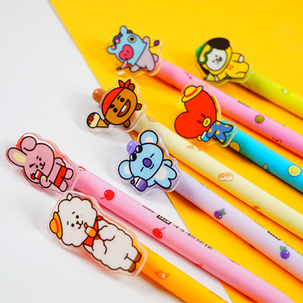 [BT21] Acrylic Clip Ball Point Pen (KHF) Koreapopstore.com