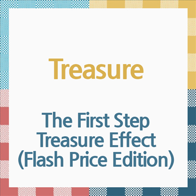 [Ship from 5th/APR] [TREASURE] The First Step : Treasure Effect (Flash Price Edition) / Japanese Album Koreapopstore.com