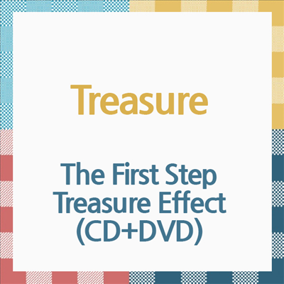 [Ship from 5th/APR] [TREASURE] The First Step : Treasure Effect (CD+DVD) / Japanese Album Koreapopstore.com
