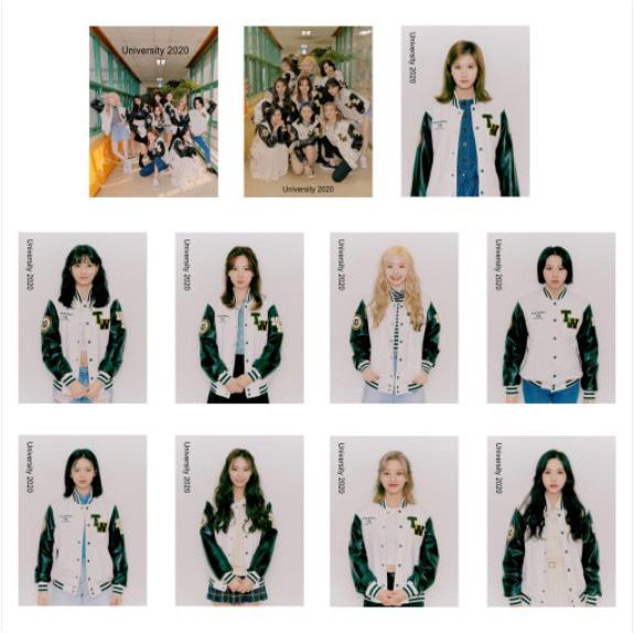 [TWICE] Wood Frame Photo 20x15cm (FASHION CLUB) Koreapopstore.com