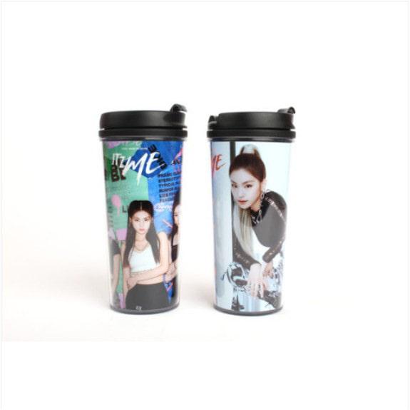 [ITZY] 500ml Tumbler (ITZY ME WANNA BE) Koreapopstore.com